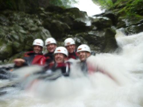 Canyoning Fallenbach-Amden 2011