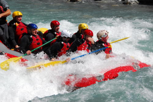 Rafting Scuol 2011