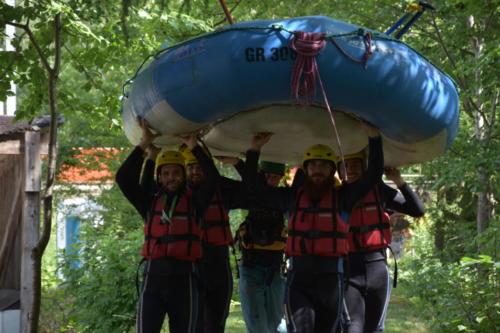 Rafting Vorderrhein 2017